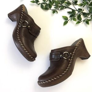 Frye Heeled Clogs / Mules